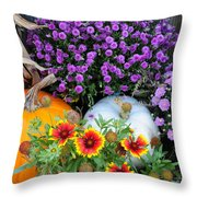 Welcome Fall Throw Pillow