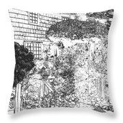 Welcome Home 2 Throw Pillow