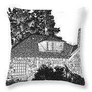 Welcome Home 5 Throw Pillow