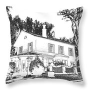 Welcome Home 6 Throw Pillow