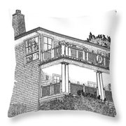 Welcome Home 9 Throw Pillow