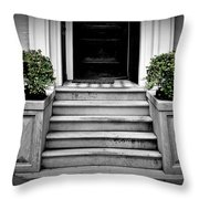 Welcome Steps Throw Pillow
