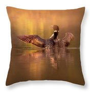 Welcome To A New Day Throw Pillow