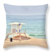 Welcome To A Wonderful Day Throw Pillow