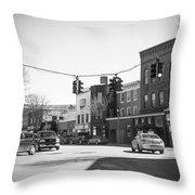Welcome To Bennington, Vt Throw Pillow