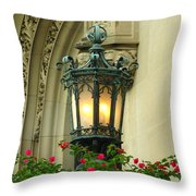 Welcome To Biltmore House Throw Pillow
