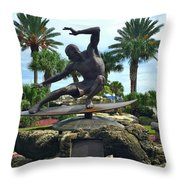 Welcome To Cocoa Beach Throw Pillow