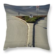 Welcome To Driver's Ed Throw Pillow