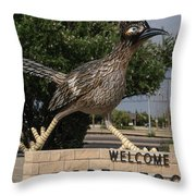 Welcome To Fort Stockton Throw Pillow