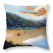 Welcome To Havelock New Zealand Throw Pillow
