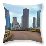 Welcome To Houston Throw Pillow