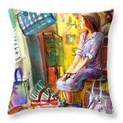 Welcome To Italy 05 Throw Pillow