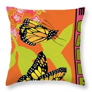 Welcome To My Garden-jp2828 Throw Pillow