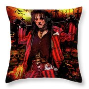 Welcome To My Nightmare Throw Pillow