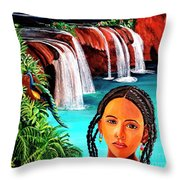 Welcome To My Sancturary Throw Pillow