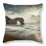 Welcome To Open Water Throw Pillow