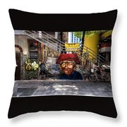 Welcome To Our World  Throw Pillow