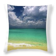 Welcome To Paradise Throw Pillow