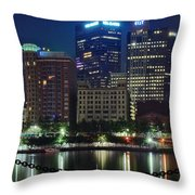 Welcome To Pittsburgh Throw Pillow