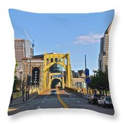 Welcome To Pittsburgh Pa Throw Pillow