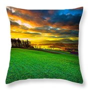 Welcome To Switzerland Throw Pillow