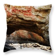 Welcome To The Grotto Throw Pillow