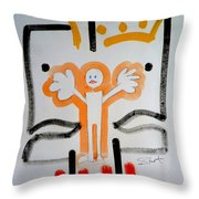 welcome to the U N Throw Pillow