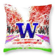 Welcome To Washington Throw Pillow