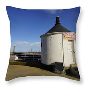 Welcome To Whitby Throw Pillow