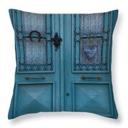 Welcoming And Beautiful Entrance Throw Pillow