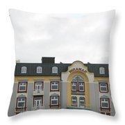 Welcoming Lovely Wind Throw Pillow