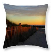 Welcoming The Day Throw Pillow