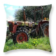 Well And Truely Retired Throw Pillow