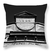 Well Built  Throw Pillow