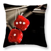 Well Equipped Street Rod Throw Pillow