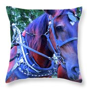 Well Geared In The Head Throw Pillow