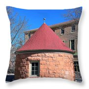 Well House Throw Pillow