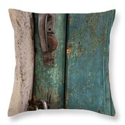 Well Locked Throw Pillow