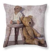 Well Loved Throw Pillow