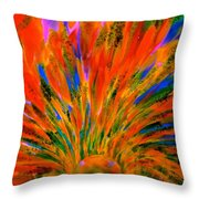 Well Of Colors Throw Pillow