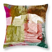 Well Of Souls Throw Pillow