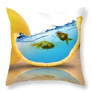 Well Organized Throw Pillow