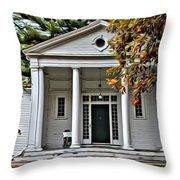 Wellesley College Zeta Alpha Throw Pillow