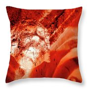 Wells Cathedral Gargoyles Color Negative C Throw Pillow