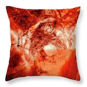 Wells Cathedral Gargoyles Color Negative H Throw Pillow