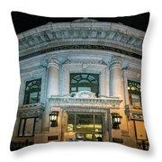 Wells Fargo Bank Building In San Francisco, California Throw Pillow