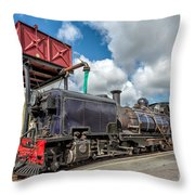 Welsh Highland Railway Throw Pillow