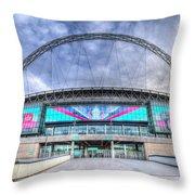 Wembley Stadium Wembley Way Throw Pillow