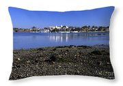 Wentworth By The Sea Hotel - New Castle New Hampshire Usa Throw Pillow