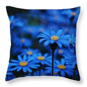 We're All Blue Throw Pillow